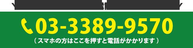 電話番号:03-3389-9570